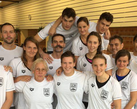Die Masters des Schwimmclub Westerbach Eschborn (SCWE) sind Hessische Meister 2016