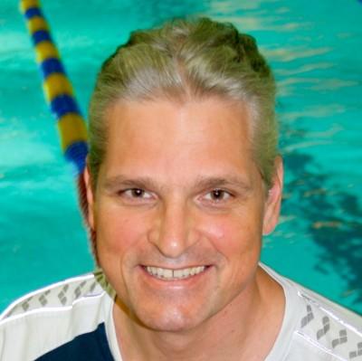 Dr. med Stephan Pohl, Trainer und 1. Vorstandsvorsitzender des Schwimmclub Westerbach Eschborn (SCWE)