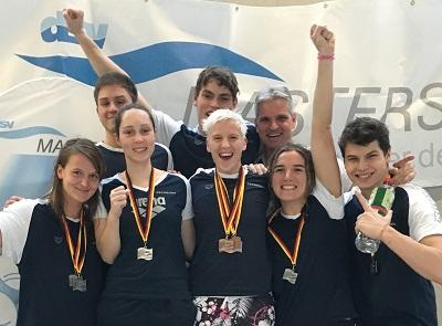 Leistungsgruppe 2 (LG2) und Masters des Schwimmclub Westerbach Eschborn (SCWE)