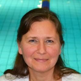 Suna Elman, Trainerin und Beisitzerin im Vorstand des Schwimmclub Westerbach Eschborn (SCWE)
