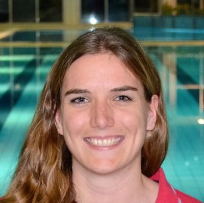 Monika Hirte, Leistungsschwimmerin, Trainerin und Jugendwart im Vorstand des Schwimmclub Westerbach Eschborn (SCWE)