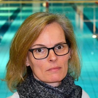 Angela Klein, ehemalige Leistungsschwimmerin und Schriftführerin im Vorstand des Schwimmclub Westerbach Eschborn (SCWE)