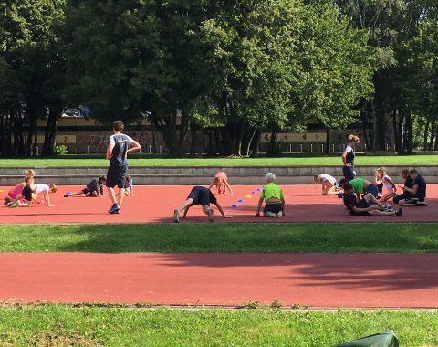 Trainingslagers Schwimmclub Westerbach Eschborn im Sommer 2016